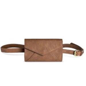 Merona Belt With Envelope Clutch Fanny Pack NWOT